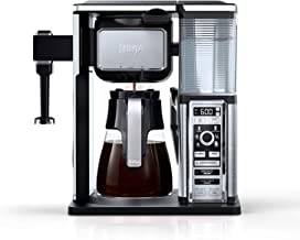Ninja CF091 Coffee Bar, Black/Silver (Renewed)