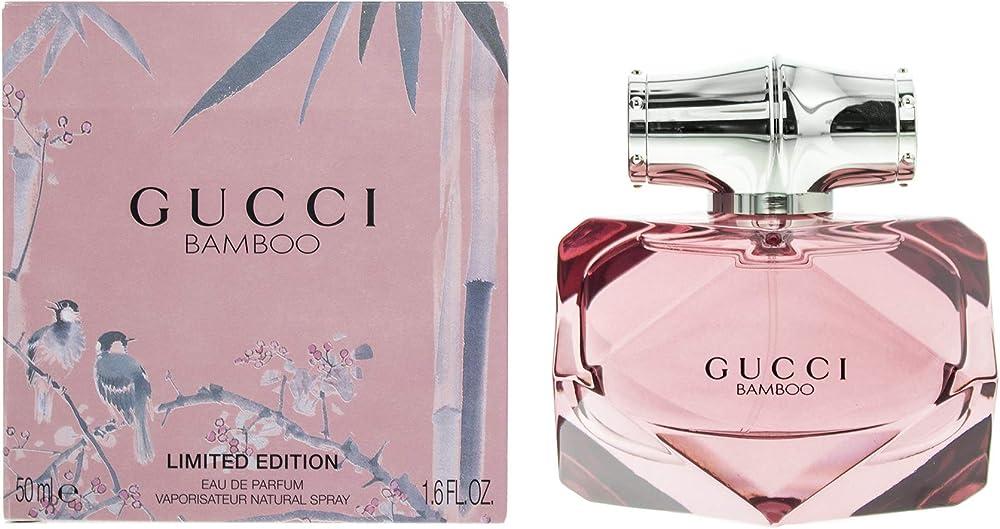 Gucci bamboo, eau de parfum,profumo per donna vapo edizione limitata,50 ml 10011124