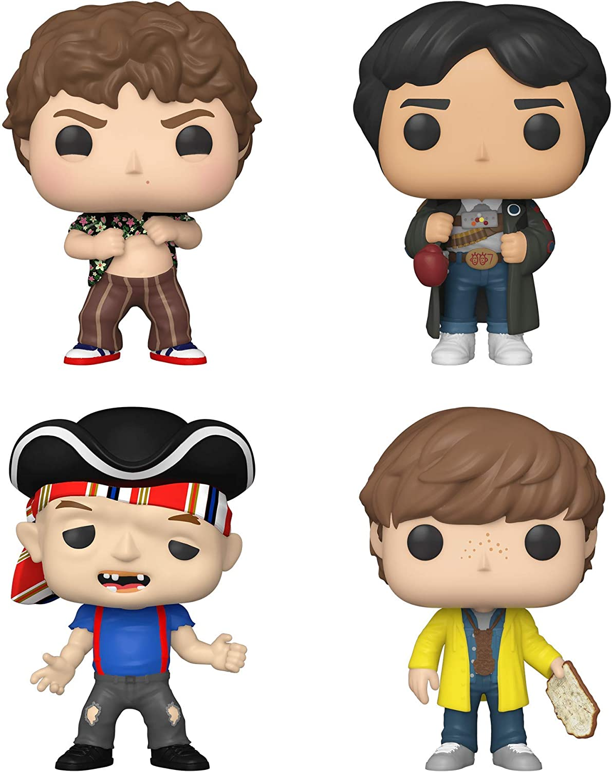 Funko Pop The Goonies Set of 4: Chunk Mikey D SEAL limited product Free Shipping Cheap Bargain Gift and Sloth w Map
