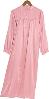 cotton lined satin pajamas