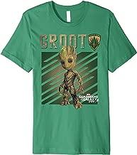 Marvel Guardians Vol. 2 Baby Groot Shield Premium T-Shirt