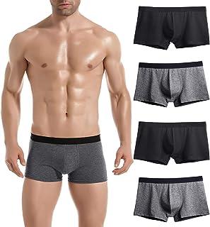 Donpapa Mens Underwear Boxer Briefs Pure Cotton Breathable Soft Shorts