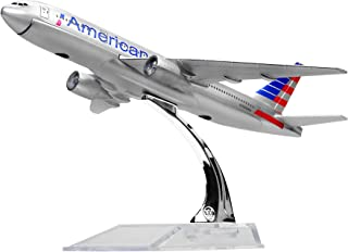 Diecast Airplne 1:400 American B777 Metal 6.3inches(16cm) Plane Model Office Decoration or Gift by LESES
