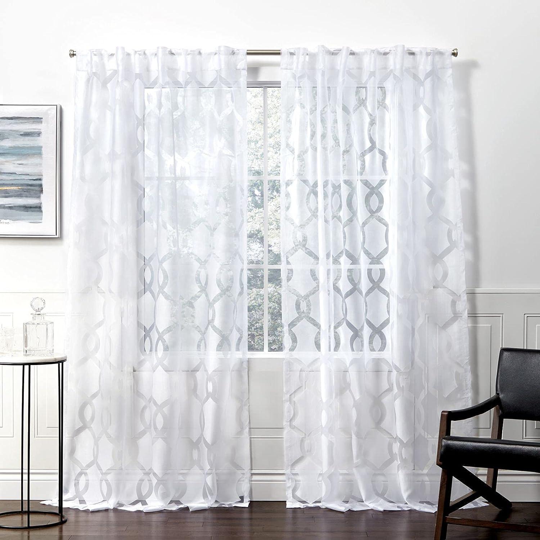 Exclusive cheap Home Curtains Rio excellence Hidden Tab Top Curtain 54x108 Panel