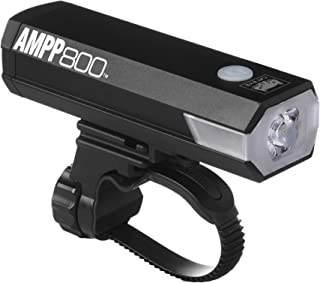 CAT EYE - AMPP800 Rechargeable Bike Headlight, High Power LED, 800 Lumens, with Micro USB Cable