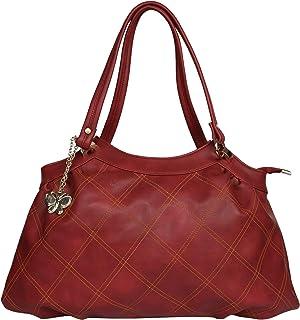 (Butterflies Women Handbag (Maroon) (BNS 0707MRN)
