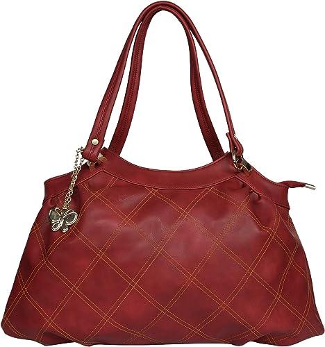 Butterflies Women Handbag Maroon BNS 0707MRN