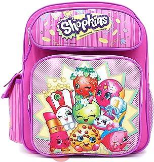 حقيبة ظهر مدرسية من شوبكينز مقاس متوسط 30.48 سم للفتيات