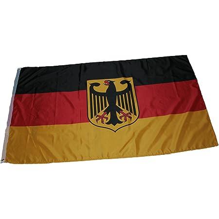 4x Flagge Fahne 90x150cm Deutschland Fussball Adler Hissflagge WM 2018 Hissfahne