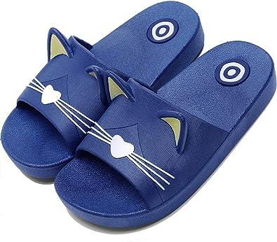 Lvptsh Chanclas Niña Piscina Zapatillas de Estar por Casa Niños Zapatillas Niña Verano Zapatos de Playa Zapatos de Baño Antideslizante