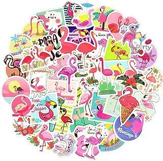Flamingo Stickers for Teens Kids Flamingo Laptop Stickers for Girls Flamingo Vinyl Stickers for Water Bottle Waterproof St...