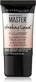 Maybelline New York Master Strobing Liquid Illuminating Highlighter, Medium/Nude Glow, 0.67 fl. oz.