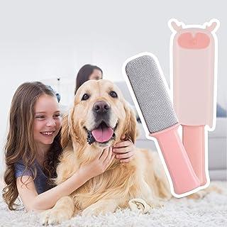 New pet hair removal brush brush clothes sofa hair remover coat hair remover (Pink)