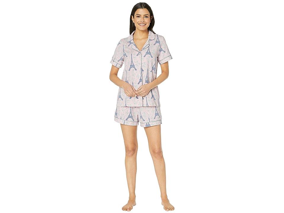 BedHead Pajamas Short Sleeve Classic Short Pajama Set (Colette