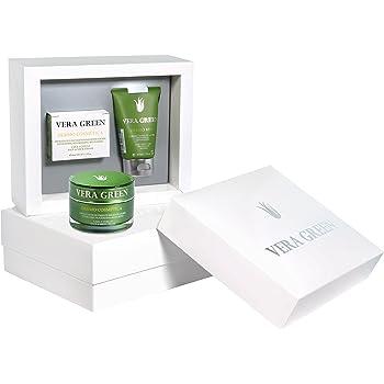 Vera Green Pack Regalo Mujer Cremas de Aloe Vera Facial y Corporal ...