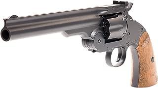 Bear River Schofield No. 3 Revolver - .177 Full Metal Airgun Pistol - CO2 BB Gun Shoot BB or Pellet Ammo