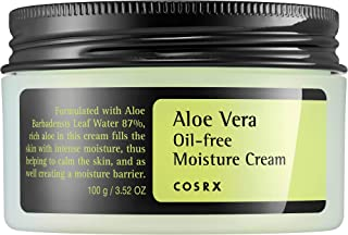 COSRX Aloe Vera Oil-free Moisture Cream, 100g, 0.19 kg Pack of 1