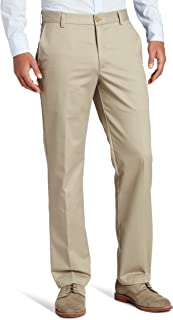 IZOD Men's American Chino Flat Front Slim Fit Pant