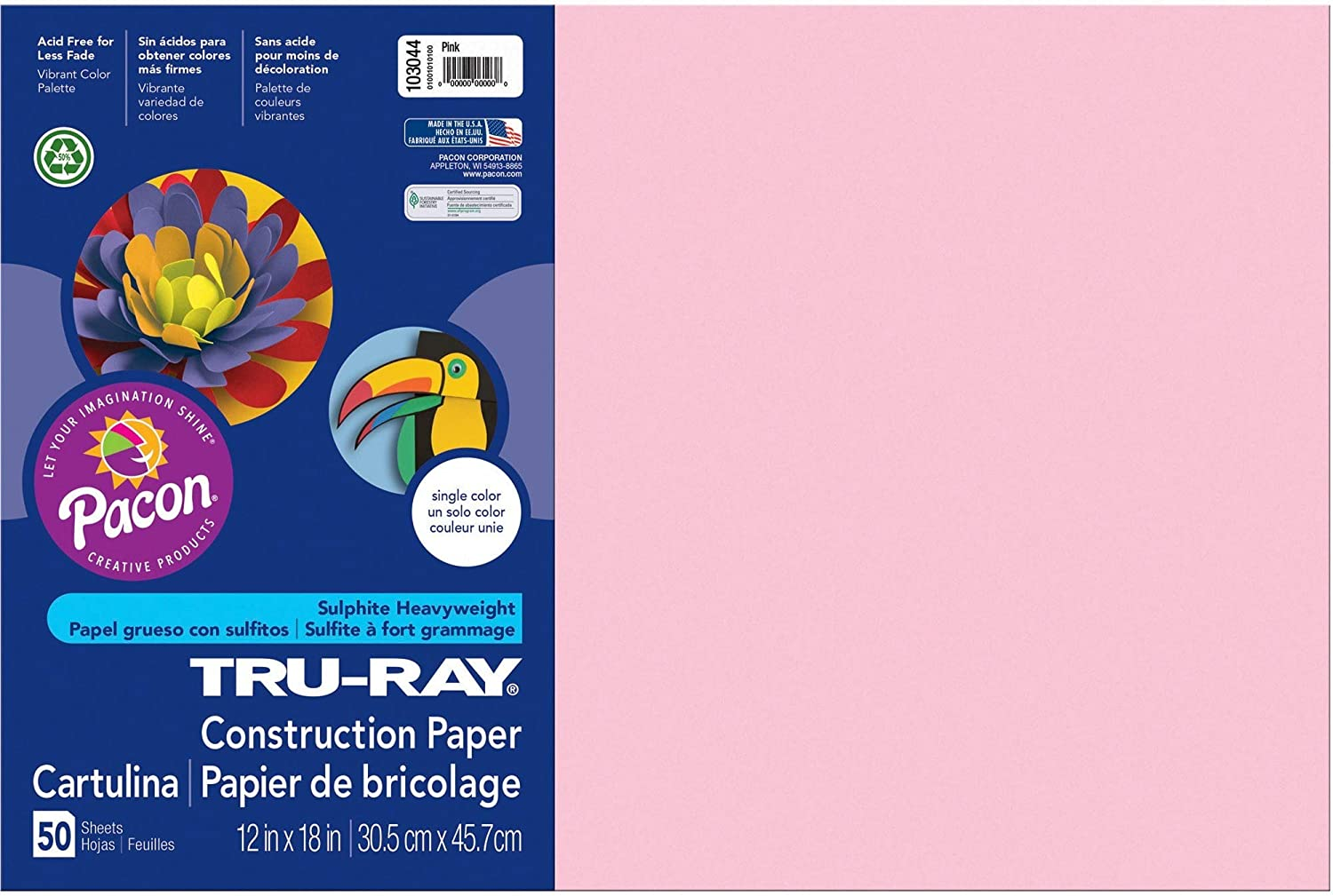Pacon Tru-Ray Construction Paper 18-Inches 50-Cou 12-Inches by High quality Selling
