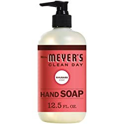 Mrs. Meyer´s Clean Day Liquid Hand Soap, Rhubarb, 12.5 fl oz