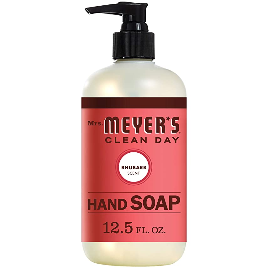 香ばしい証言する外交問題Mrs. Meyers Clean Day, Liquid Hand Soap, Rhubarb Scent, 12.5 fl oz (370 ml)