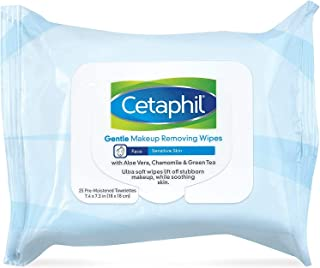 Sponsored Ad - Cetaphil Gentle Makeup Removing Wipes, 0.12 Pound