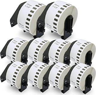 """BETCKEY - Compatible DK-2225 Continuous Length 1-1/2"""" x 100'(38mm x 30.48m) Replacement Labels,Compatible with Brother QL ..."""