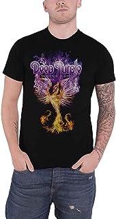 Deep パープル T Shirt Phoenix Rising Band Logo 新しい 公式 メンズ