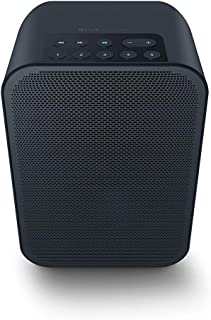 Bluesound Pulse Flex 2I Portable Wireless Multi-Room Smart Speaker with Bluetooth - Black - Works with Alexa and Siri