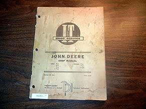 John Deere a b g h d m mt I&T Shop Service Manual jd-4