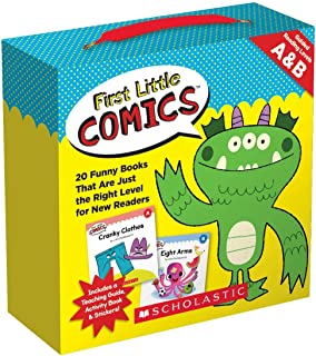 First Little Comics Parent Pack: Levels A & B: 20 Funny Books That Are Just the Right Level for New Readers