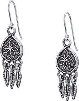 Dreamcatcher Hook Earrings