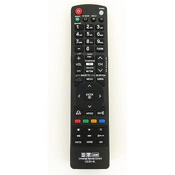 Nettech New LG AKB72915239 Universal Remote Control for All LG Brand TV, Smart TV - 1 Year Warranty(LG-23+AL)