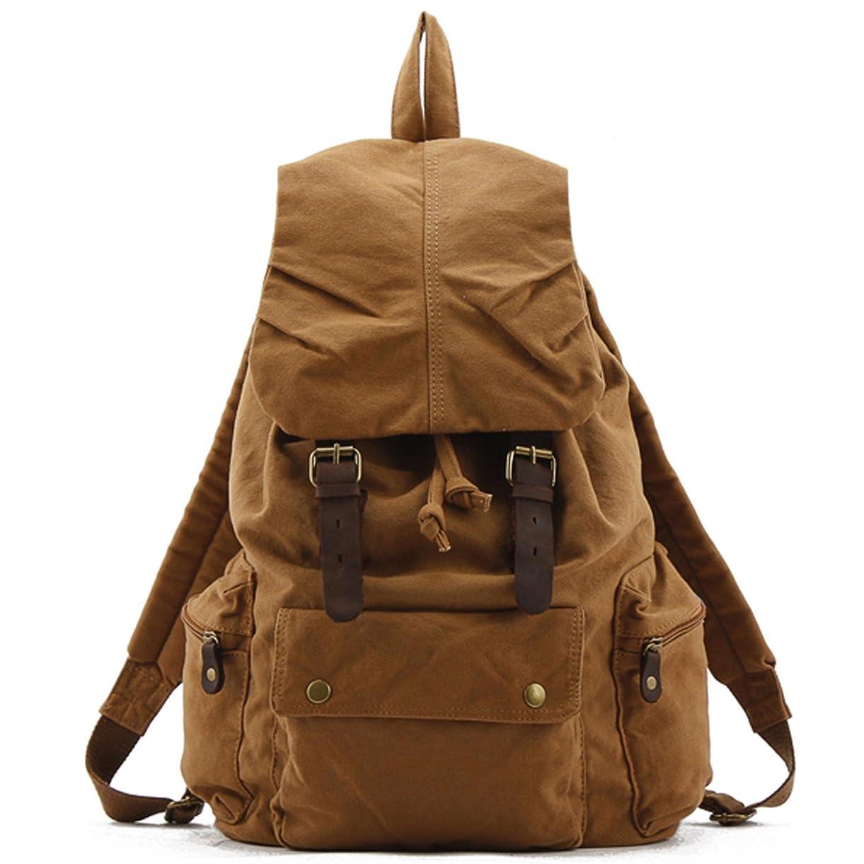 薬理学レンダー聞きますリュック バックパック 帆布製リュック キャンバスバッグ アウトドア カジュアル 旅行  男女兼用 巾着リュックサック [並行輸入品]