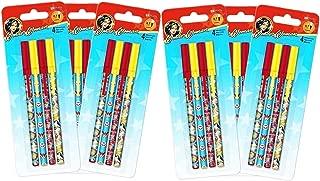 Wonder Woman Pens Party Favor Packs ~ 6 Sets of 4 Wonder Woman Stick Pens (Wonder Woman Party Supplies)