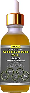 Sponsored Ad - Oregano Oil Drops Super Strength - 12 Month Supply, Food Grade, Pure Undiluted Wild Mediterranean Oil of Or...