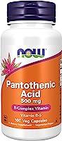 パントテン酸(ビタミンB5) 500mg(海外直送品)