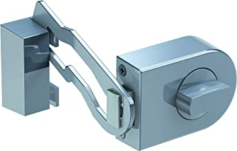 Olymp 7049 RS 50R Toevoegingsdeur met blokkeerbeugel, roestvrij staal kleuren