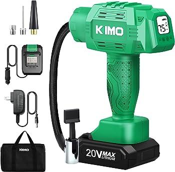 KIMO Portable 20V 145PSI Tire Inflator
