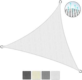 Sol Royal SolVision HS9 Vela de Sombra Toldo Parasol 300x300x300 cm HDPE Transpirable Blanco protección UV