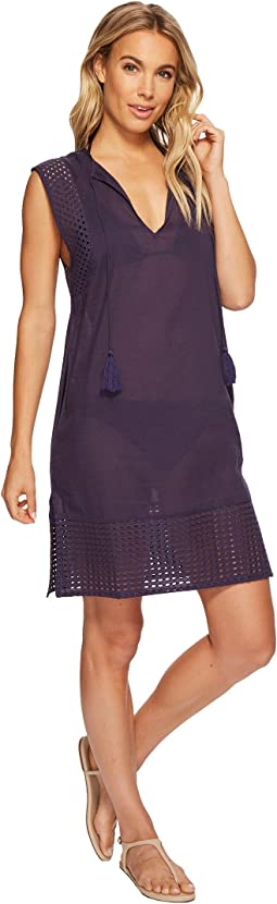 Echo Design Eyelet Breeze Tunic Cover-Up