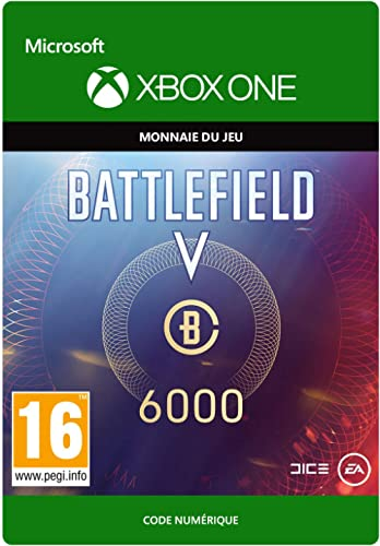 Battlefield V: 6000 VC POINTS | Xbox One - Code jeu à télécharger