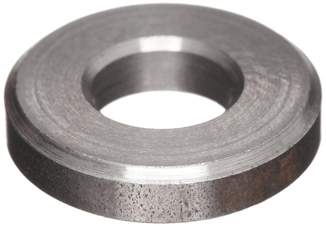 12L14 Carbon Steel Flat Washer, Plain Finish, #3 Hole Size, 0.656