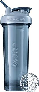 BlenderBottle 500706 Pro Series Shaker Bottle, 32-Ounce, Pebble Grey 32-Ounce Grey C02015