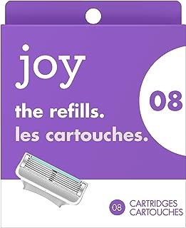 Joy The Refills, Women's Razor/Blades-8 Refills
