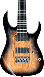 Ibanez Iron Label RG Series RGIX27FESM 7-String Electric Guitar Foggy Stained Black