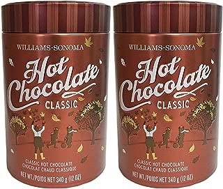 Williams Sonoma Classic Hot Chocolate in Tin - 2 Count (12 oz. ea)