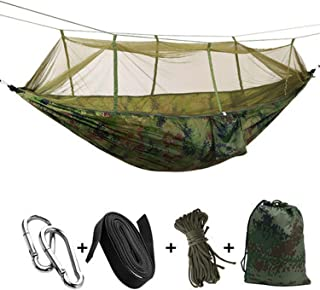 JIA-WALK Lightweight Ultralight Mosquito Net Hammock Large Stocking 22 Colors for Camping Hiking Backpacking