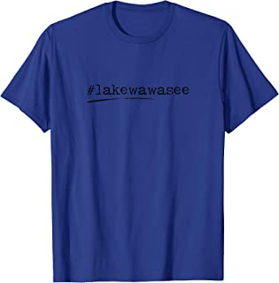 Hashtag Lake Wawasee, Syracuse Indiana T-Shirt