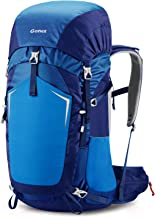 Gonex 55L Hiking Internal Frame Backpack Outdoor Backpacking Camping Trekking Climbing Backpack with Rain Cover for Men Women